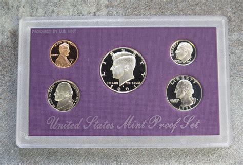 1991 United States US Mint 5pc Clad Coin Proof Set | U.s ...