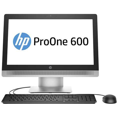 pc de bureau professionnel hp proone 600 g2 v1f01ea pc de bureau hp sur ldlc