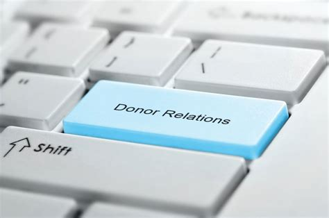 donor relations state