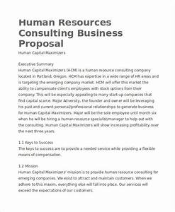 39 business proposal examples samples pdf doc With hr consulting proposal template