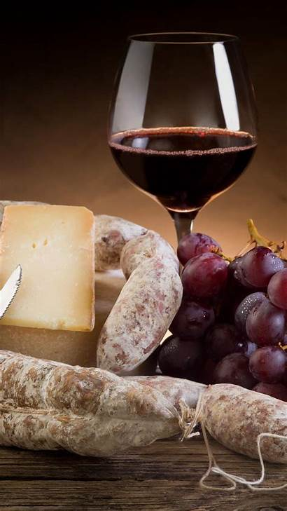 Wine Cheese France Sausage Mobile