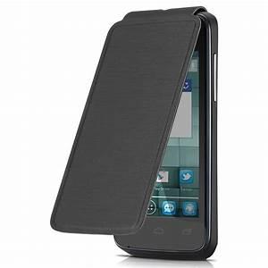 Alcatel Flip Cover Noir Alcatel One Touch M'Pop