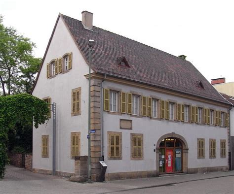 Das Schillerhaus In Oggersheim  Reiseführer Ludwigshafen