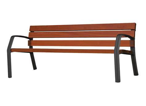 panchina parco panchina in legno e ghisa ibiza
