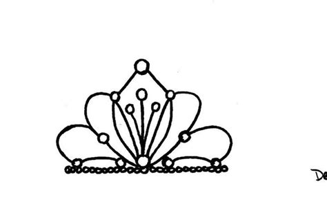 tiara template princess tiara template cake ideas and designs