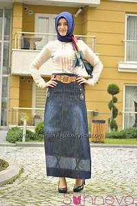 Jean Skirts for Hijab Daily and Sport Clothing a line ...