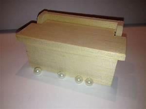 Coffre à Bijoux Bois : coffre bijoux bois naturel avec 4 perles ~ Premium-room.com Idées de Décoration