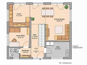 Grundriss Haus 200 Qm : stadtvilla signus von kern haus herrlicher blick in den garten ~ Watch28wear.com Haus und Dekorationen