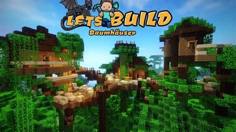 Minecraft Baumhaus Bauen!  German Tutorial  Fullhd Youtube
