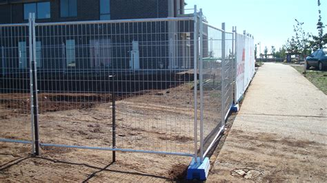 portable temporary fence all home ideas how to build