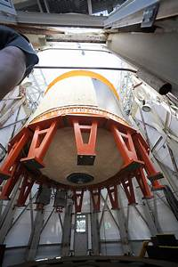 Composite Cryotank Loaded Into Test Stand at NASA Marshall ...