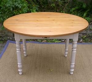 belle table de cuisine ancienne a volets avec plateau bois With table de cuisine ancienne en bois