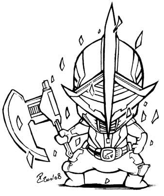 kamen rider drawings coloring pages sketch coloring page