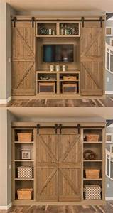 hiding a tv in plain sight home bunch interior design ideas With barn doors to hide tv