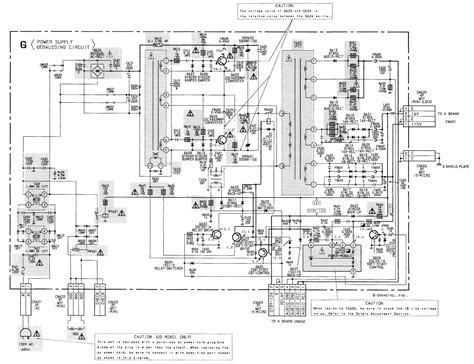 Diagram Of Sony by Sony Kv20ts50 Trinitron Tv Circuit Diagram Schematic