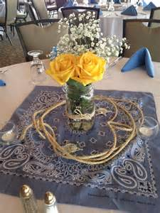 Western Themed Centerpieces Ideas