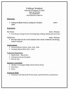 example resume sample college application resume template With cv for college application