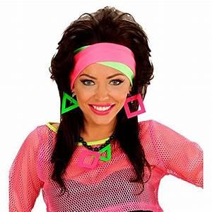 80s Neon Headband Hair Band Hair Band Headbands Hair ...