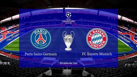 PSG vs Bayern Munich FiNALE Ligue des champions du 23 août ...