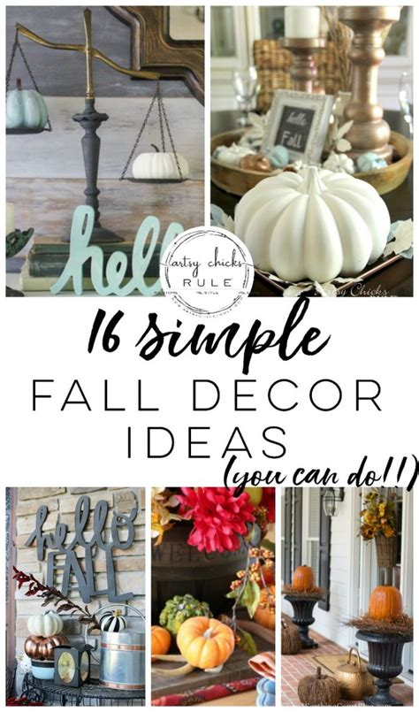 Simple Fall Decor Ideas (inspiration For Your Fall Home