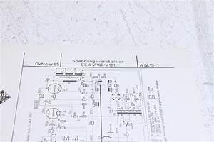 Telefunken Original V100  V101 Schematics