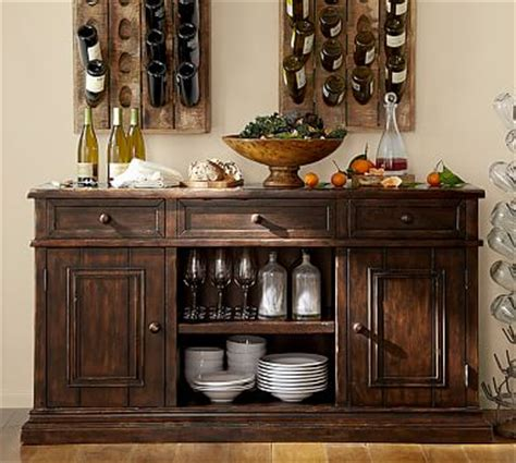 buffet ls pottery barn cortona buffet pottery barn
