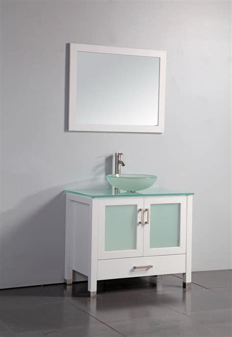 Legion 36 Inch Modern Vessel Sink Bathroom Vanity