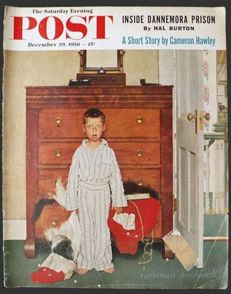 1956 Saturday Evening Post Cover ~ Norman Rockwell ~ The ...