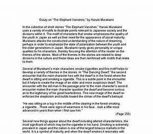 How To Write A Good Thesis Statement For An Essay An Elephant Essay For Class  Animal Testing Essay Thesis also Essay On Business Ethics An Elephant Essay How To Structure A Personal Statement Shooting An  Cheap Essay Papers