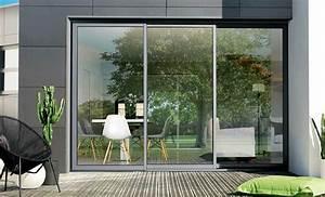 Baie Coulissante Bois : baie coulissante lapeyre maison design ~ Premium-room.com Idées de Décoration