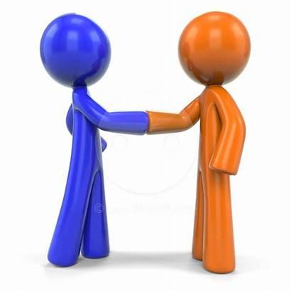 Clipart Relationship Business Deal Clip Partnership Closing
