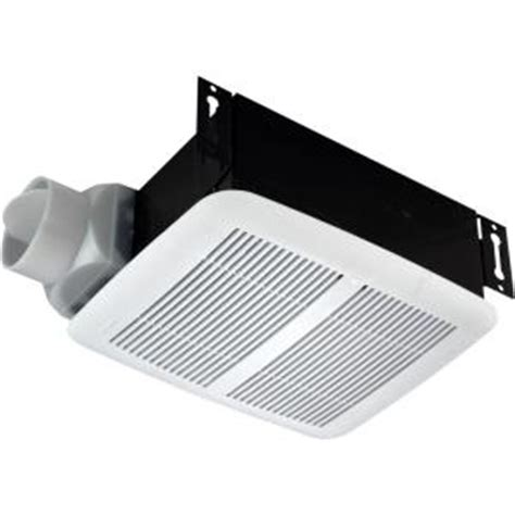 nutone bathroom fan home depot nutone 80 cfm ceiling exhaust fan 8832wh the home depot