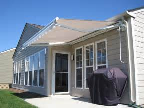 Retractable Awning by Betterliving Retractable Awnings Model 1 Semi