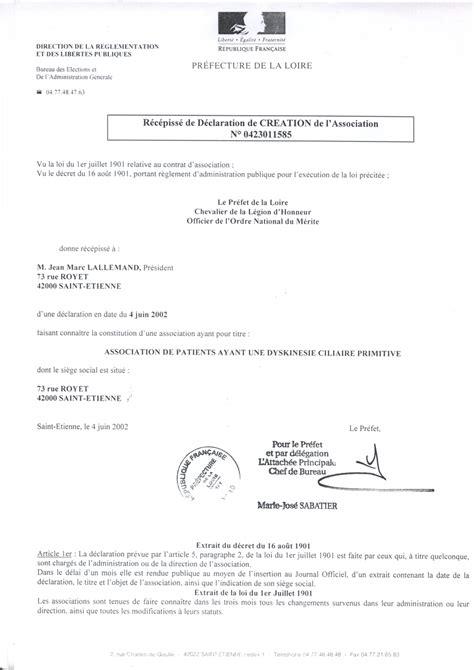 declaration bureau association prefecture adcp demande de parrainage fondation bouygues tlcom