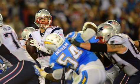 patriots  chargers week
