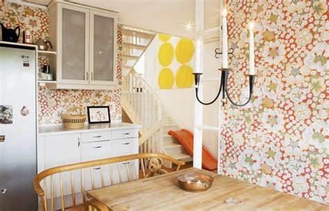 interior design kitchen images kitchen with josef frank wallpaper interior design 4775