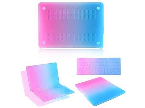 rubberized hard case rainbow laptop shell screen