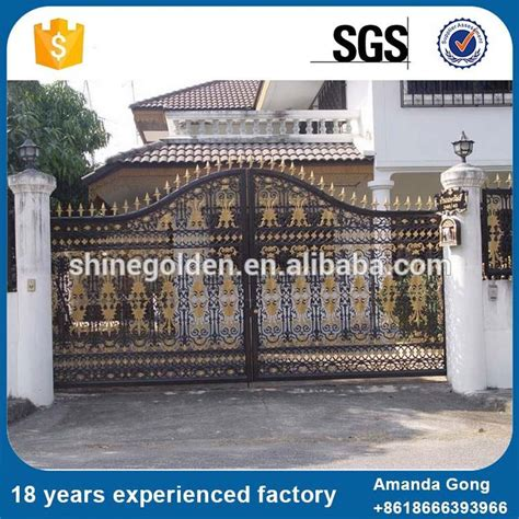 manufacture wrought iron gate paint colors high quality