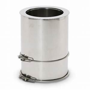 Tuyau Inox 200 : tubage chemin e tuyau ajustable 15 25cm diam 200 ~ Edinachiropracticcenter.com Idées de Décoration