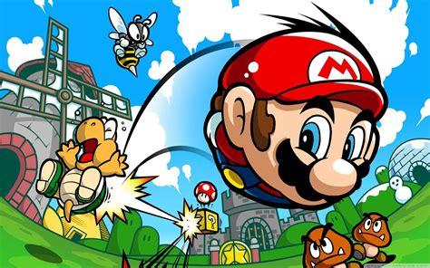 Super Mario Hd Desktop Wallpapers  Hd Wallpapers