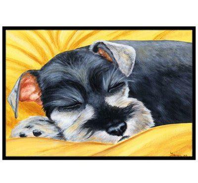 Schnauzer Doormat by Schnauzer Wayfair