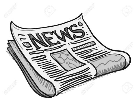 Newspaper Clipart Newspaper Clipart 4 Parkinson S Movement