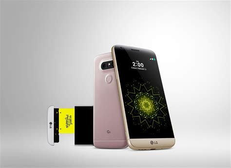 Lg Debuts The G5, Its First Ever Modular Smartphone