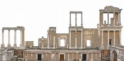 Ancient Theatre Building Rome Architecture Roman Transparent