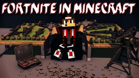 fortnite  minecraft map youtube