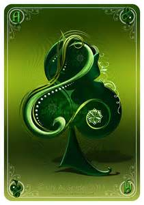 deviantART Ace of Clubs Cards