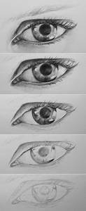 How To Draw An Eye in Pencil Step By Step - Learn To Draw ...