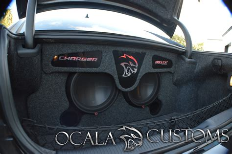 2015 Dodge Charger SRT Hellcat Enclosure – Ocala Customs