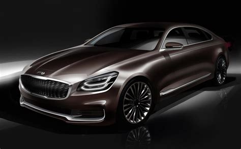 K900 Kia 2019 by 2019 Kia K900 Luxury Flagship Redesign To Debut At New