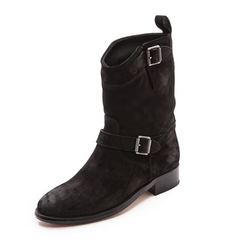 moto style boots frye phillip harness short boot rank style